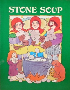 Stone Soup old folk tale - children book