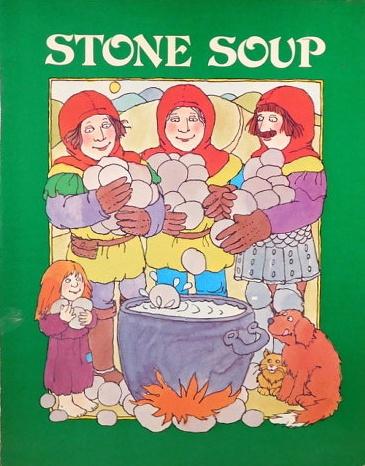 Stone Soup old folk tale - children book