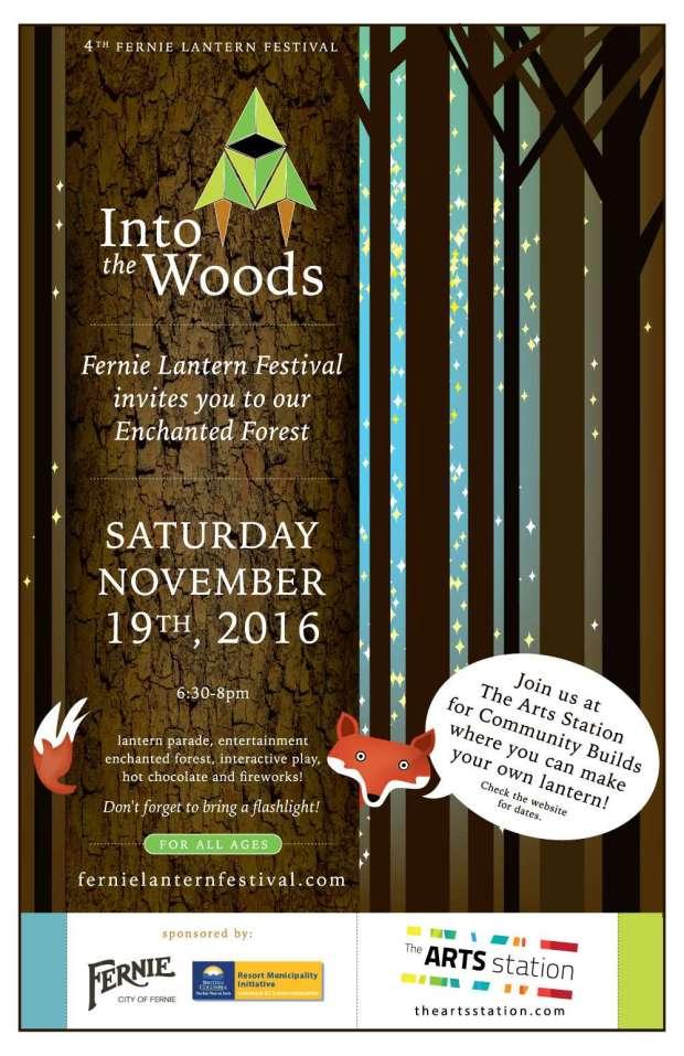 Fernie Lantern Festival - Into The Woods 2016