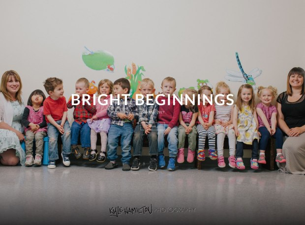 Kyle Hamilton Photography - Bright Beginnings Preschool class photos