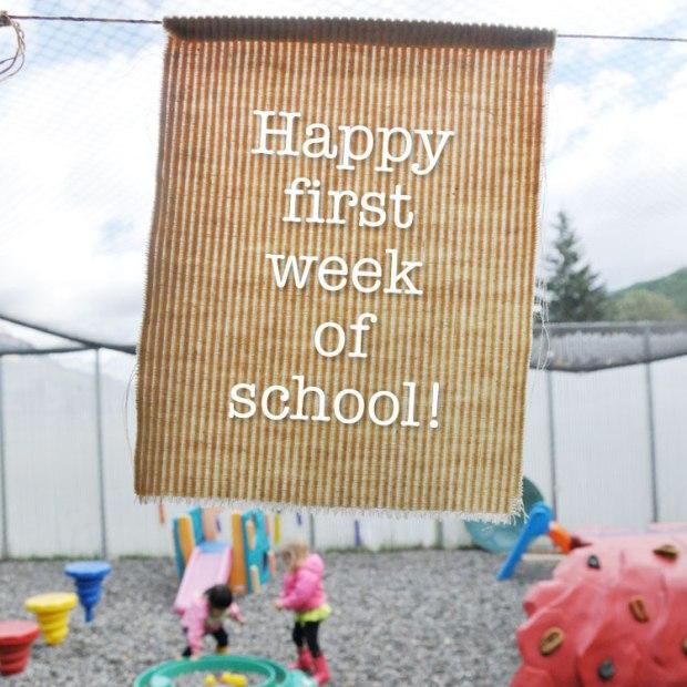 Bright Beginnings Fernie BC - Preschool First Week of the new school year