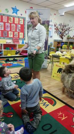 Wild Safe BC presentation at Bright Beginnings Preschool