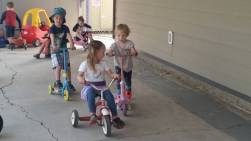 Fernie Bright Beginnings Preschool outdoor play