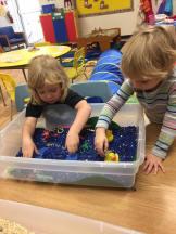 Fernie preschool - sensory bin