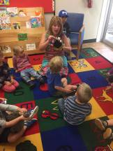 Fernie preschool - singing