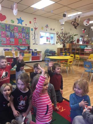 Bright Beginnings Preschool Fernie BC - Social Thinking, Crafts, Group, Show and Tell, Santa