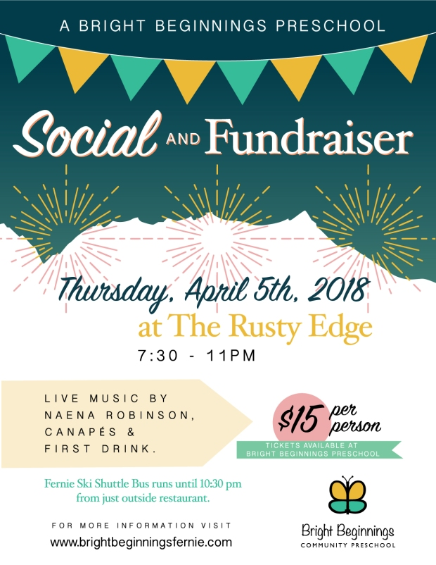 Bright Beginnings The Rusty Edge Social & Fundraiser 2018